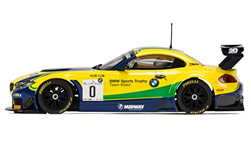 Scalextric Circuit Routier C3721 BMW Z4 GT3 – Blancpain Série Brands Hatch 5 118,1 cm de Voiture