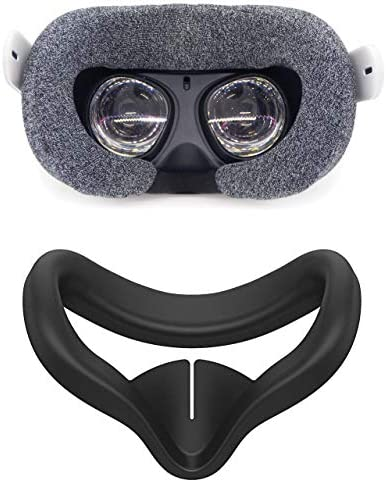 Pace VR Cover Set for Oculus Quest 2 Silicone Sweat Absorbent Fabric Cover product image