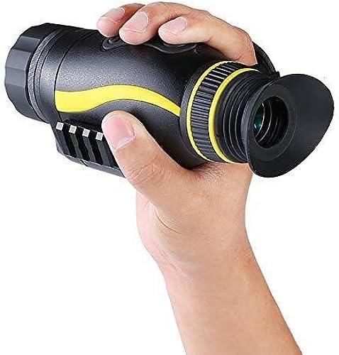 EGCLJ Télescope Monoculaire - Télescope Numérique De Vision Nocturne - Télescope De Chasse Multifonction - Observation des Oiseaux, Match De Football - 4 × 35 Mm