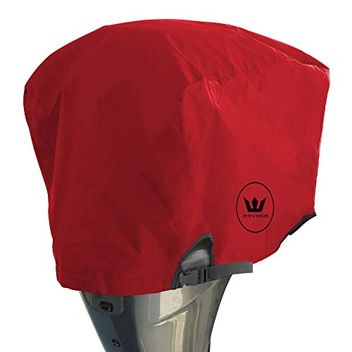 Lowest Prices! Windstorm Outboard Boat Motor Covers Heavy Duty 600D Polyester Marine Canvas - 9 Colo...