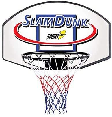 Palmi Tabellone Basket Tabellone Basket cm 71x45 tabellone Basket con canestro in Metallo tabellone Basket Rete Inclusa tabellone Pallacanestro tabellone Basket Diametro del canestro 40cm.