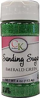 CK Products 78-50513 Cake Decorating Sanding Sugar Bottle, 4 oz, Emerald