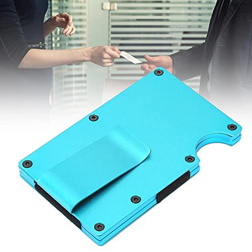 Portatarjetas de visita, portatarjetas para estuche de teléfono Diseño elegante para liderazgo para tarjetas de crédito para empleados para tarjetas individuales(blue, X-11#A section)