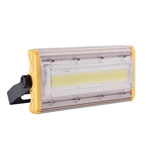 50W LED Foco Proyector, LED Reflectores para exteriores, Super brillante luz de trabajo, IP65 Impermeable, 80Lm / w, 6500K blanco frío, Reflector de seguridad exteriores para garaje, césped y jardín