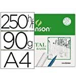 Paquete A4, (250 Hojas) Guarro Vegetal Basik 95g
