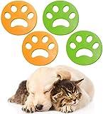 Set di 4 depilatori per animali domestici, per la pulizia domestica, progettato per asciugatrici, epilazione per la rimozione dei peli di animali, per tutti gli animali domestici