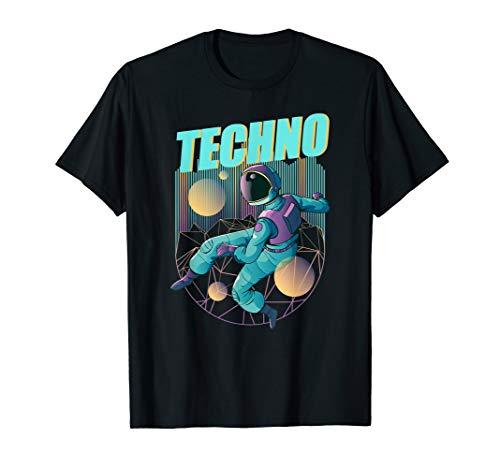 Techno Musik Raver EDM Oberteil Rave Klamotten Herren Damen T-Shirt