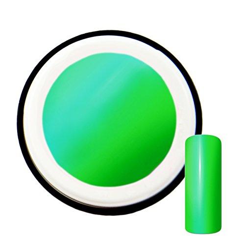 Vert Fluo avec effet blueglow # 11 gels uv gel 5 ml – Fabriqué en Allemagne