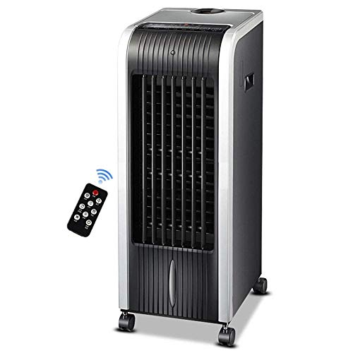 Ventilador comercial industrial Móvil Refrigerador de aire evaporativo portátil Control remoto Ventilador de aire acondicionado refrigerado por agua fría individual Ventilador de pared, ahorro de ene