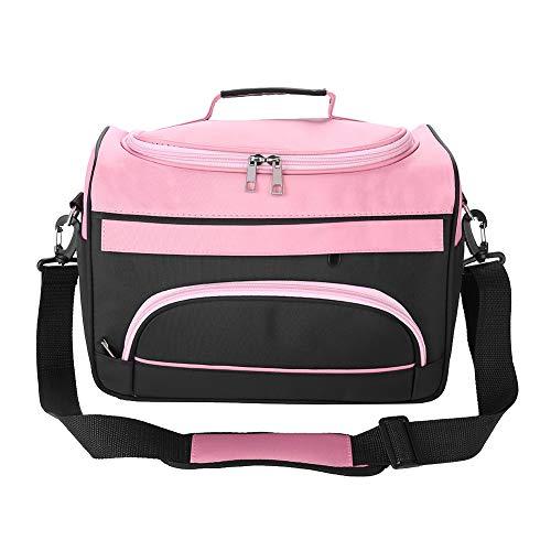 Friseur Tasche - Friseur Tasche Große Kapazität Pro Friseur Haar Ausrüstung Salon Werkzeug Tragetasche Reise Aufbewahrungskoffer Tasche (Farbe : Rose Pink)