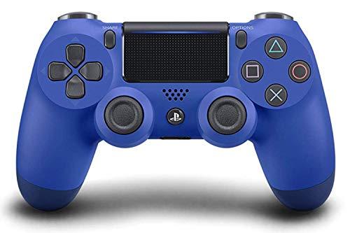 Sony Manette PlayStation 4 officielle, DUALSHOCK 4, Sans fil, Batterie rechargeable, Bluetooth, Bleue