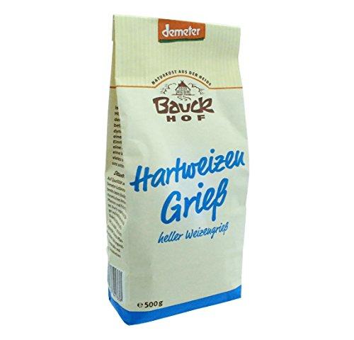 Bauck Bio Hartweizengries, 500 g