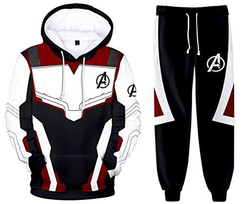 Silver Basic Niño Avengers Superhero Sudadera Capucha