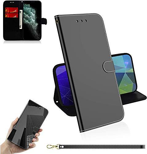 Sunrive Case PU Lederen Telefoon Holster Case Card Slot Flip Portemonnee Stand Functie gel magnetische Beschermende Huidhoes (), Stand Case, Wiko Pulp Fab 4G, Zwart