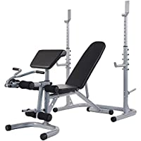 BalanceFrom RS 60 Multifunctional Adjustable Olympic Workout Bench