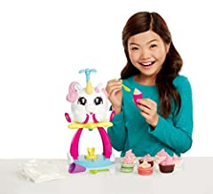 Delivering its tasty surprise through the magic of a unicorn Use it to top cupcakes and cookies Recipe cards provided so you can even use ingredients from home 16pc set includes: Unicone Rainbow Swirl Maker, 3 mix packets, 1 bowl, 1 spatula, 2 measur...