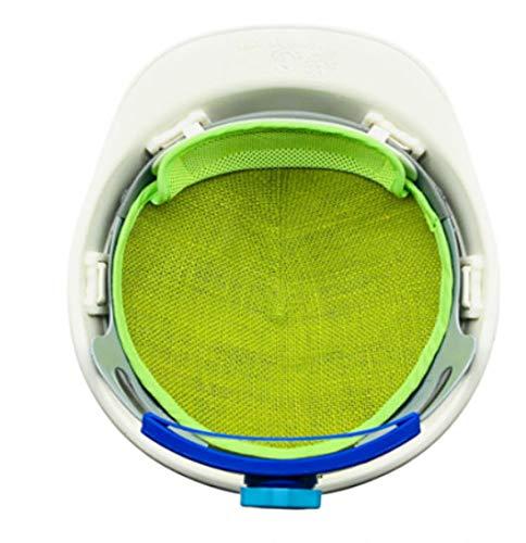 頭皮保護、冬は保温、四季節、使用,夏は涼しい,作業用安全帽、 脱毛防止に気になる方用の工事現場で人気の安全ヘルメットに直接取付けるタイプ内皮 信頼できる韓国国内製造品、麻とドクダミの成分で 生産した安全安全ヘルメットに直接取付けるタイプ内皮
