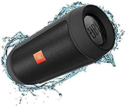 JBL Charge 2+ Splashproof Portable Bluetooth Speakers - Black