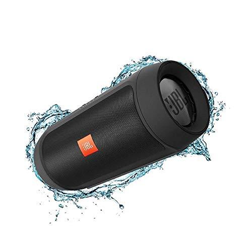 JBL Charge 2+ Tragbarer Bluetooth-Lautsprecher, spritzwassergeschützt (schwarz)