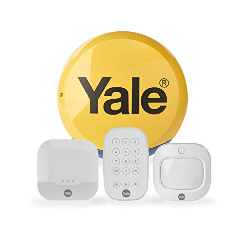 Yale IA-310 Sync Smart Home Intruder Alarm Starter Kit, Compatible with Alexa And Philips Hue, App Control, DIY Friendly, Integration Function, Real Time Updates