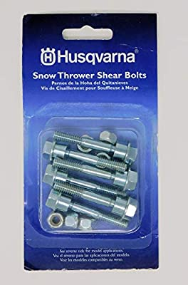 Snow Thrower Replacement Shear Bolt Kit with 6 Bolts | 580790401