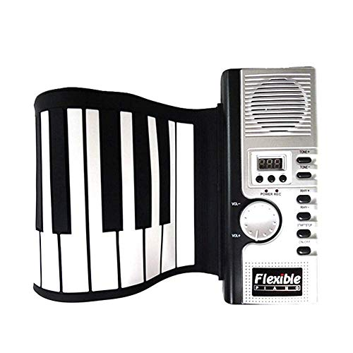 Best Buy! Sikungjlk Portable Piano Girl And Boy Gift Silicone Portable Electronic Soft Keyboard Pian...
