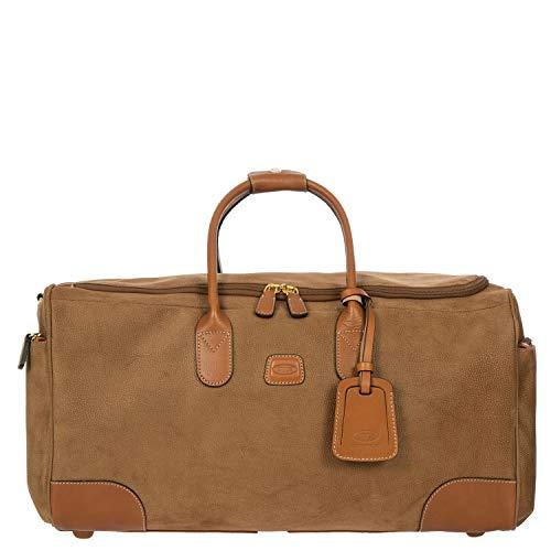 Reisetasche Life, Einheitsgröße.Camel