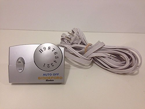 Authentic Silver Biddeford Electric Blanket 76pa Heat...