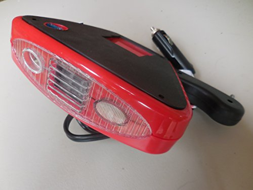 12 Volt Rubberized Electric Car Heater & Defroster...