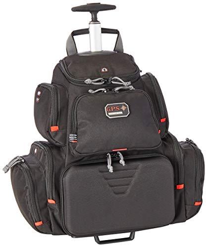 G5 Outdoors G.P.S. GPS-1711ROBP Rolling Handgunner Backpack, Black,Small