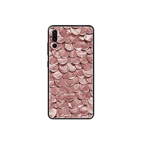 Brillo Rosa Oro Rosa Suave Pintura Etui Shell Negro Caja Del Teléfono Para Huawei P 8 10 20 30 Smart Plus 2019 Z Lite Pro 2017 2019-6-Huawei P30 Lite