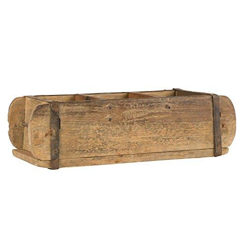 Ib Laursen UNIKA Aufbewahrungsbox mit drei Fächern aus Holz 31 cm