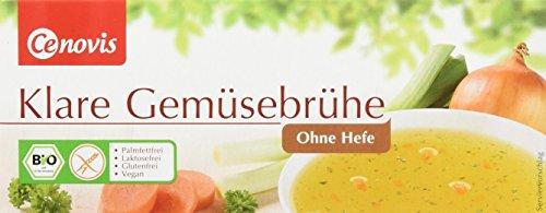 Cenovis Bio Klare Gemüsebrühe ohne Hefe, laktosefrei, glutenfrei und veganung (1 x 132 g)