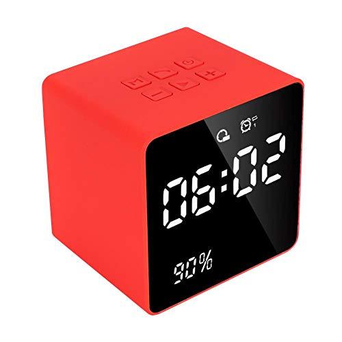 Bluetooth 5.0 Wireless Speaker, 3D Surround Sound BT Stereo Speaker, 1200mAh Large Capacity, 32G TF External Card, Clock Display, Portable Bluetooth Outdoor Speaker, Best Gift