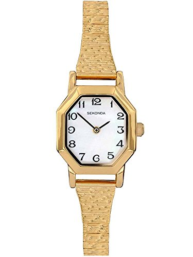 Sekonda Women's Quartz Watch with Mother of Pearl Dial Analogue Display and...