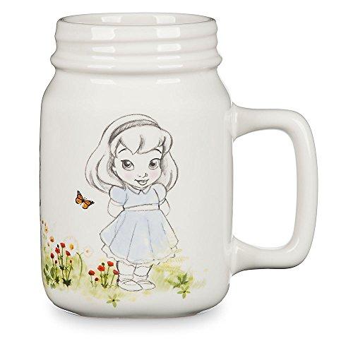 Disney Animators' Collection Princess Mason Jar Ceramic Mug