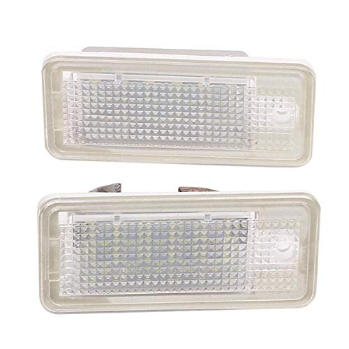 DONGMAO 2 pz 18 LED Luci Targa Luce per A/UDI A3 S3 8P 8PA A4 S4 B6 B7 8 H RS4 8E A5 RS5