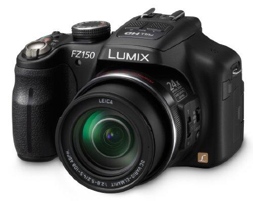 Panasonic DMC-FZ150K 12.1 MP Digital Camera with CMOS Sensor and 24x Optical Zoom (Black) (Discontinued by Manufacturer)