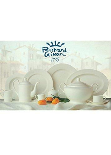 Richard Ginori Antinea Bianco Zuccheriera Porcellana