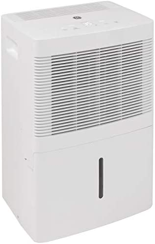 GE ADEW20LY Portable Compact Multi Speed Electric Home Dehumidifier with Auto Defrost 20 Pints product image