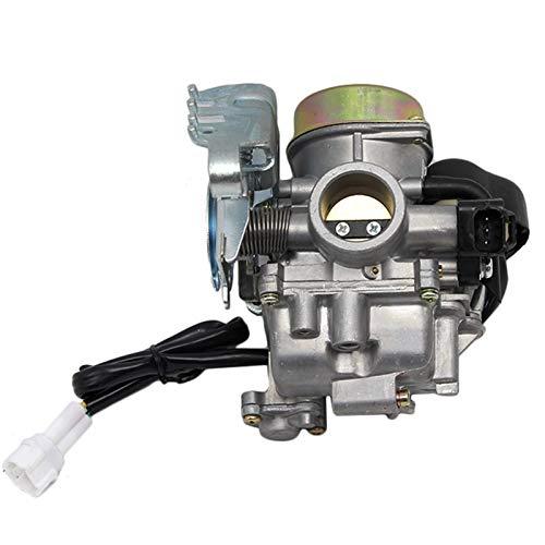 MTHW Útil CVK24.5 24mm Carburador Electrónico Choke GY6 100 125 150CC Scooter ATV reemplazar/ajuste para - Keihin CVK/Carburador profesional