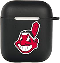 Chief Wahoo Airpods Case, Flexible Silicone Cover for Airpods 2&1, Shockproof Protective TPU Airpod Cases with Keychain Compatiable Wireless Charging