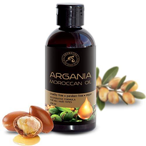 Arganöl 250ml - 100{9d33c7c2d30a2625876aeeb633ab263f486730c16b3a8834bb38226b71a6fe5a} Pure & Natural - Argania Spinosa Kernöl - Marokko - Bestes Haaröl - große Vorteile für Haut - Haar - Gesicht - Körperpflege - Argan Öl