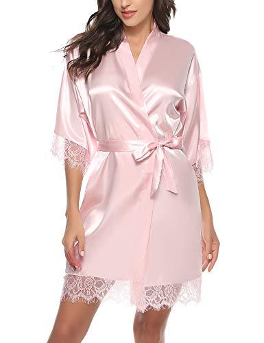Kimono Encaje Mujer  marca Hawiton