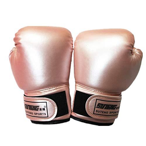 qingqingxiaowu Boxhandschuhe Kinder Kickboxen Handschuh Boxtrainingshandschuhe Sparringhandschuhe Boxsackhandschuhe Trainingsboxhandschuhe pink,Child