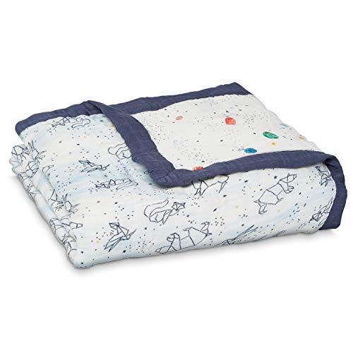 aden + Anais 9331G Silky Soft Dream, Blanket, Stargaze, Star, Multicolor