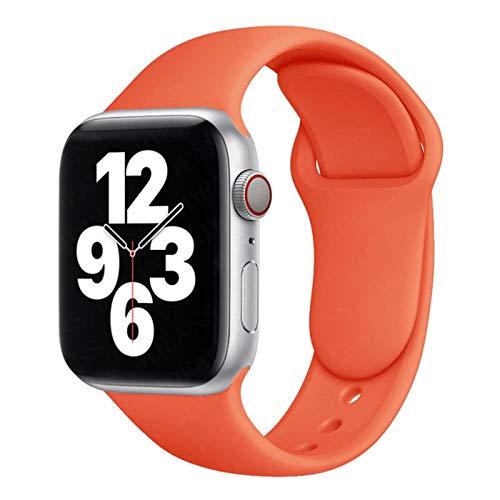 Correa deportiva de goma para Apple Watch se 6 5 4 banda 44 mm 40 mm pulsera accesorios correa para iWatch Series 4 3 21 38 mm 42 mm 42mm or 44mm SM