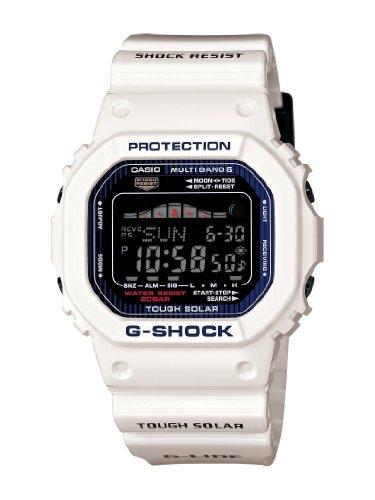 Casio Men's GWX5600C-7 G-Shock G-LIDE White Resin Digital Watch