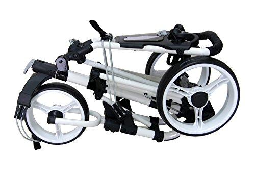 QWIK-FOLD 3 Rad Golftrolley weiß - 2