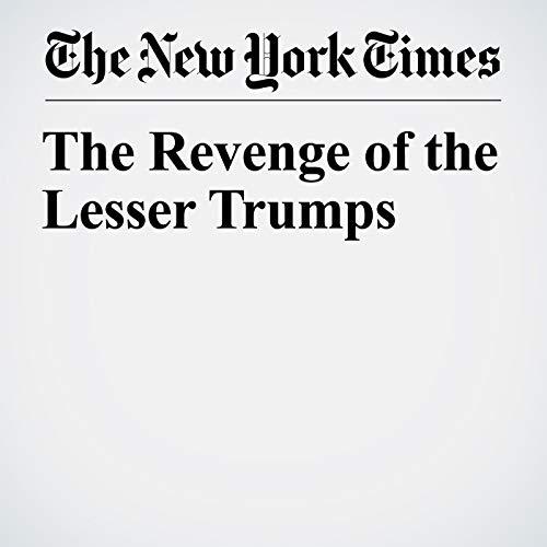 The Revenge of the Lesser Trumps copertina